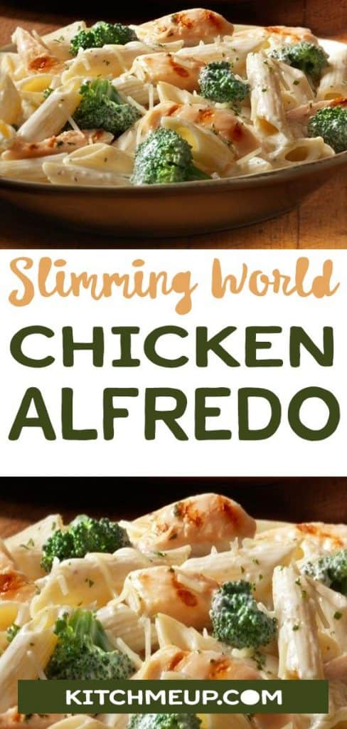 Slimming World Chicken Alfredo