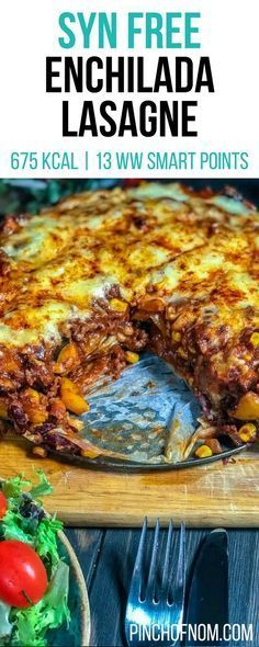 Slimming World Enchilada Lasagne