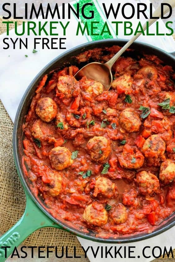 Slimming World Turkey Meatballs