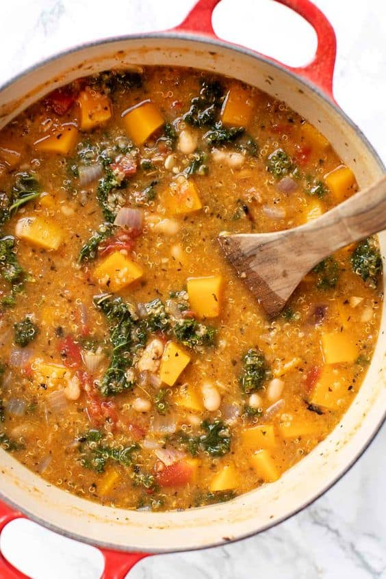 Tuscan Kale & White Bean Stew