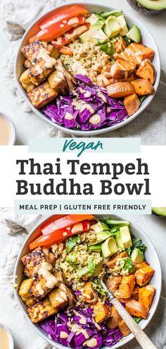 Thai Tempeh Buddha Bowl