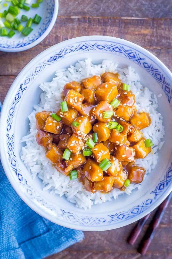 Vegan Orange Tofu