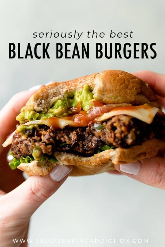 The Best Black Bean Burgers