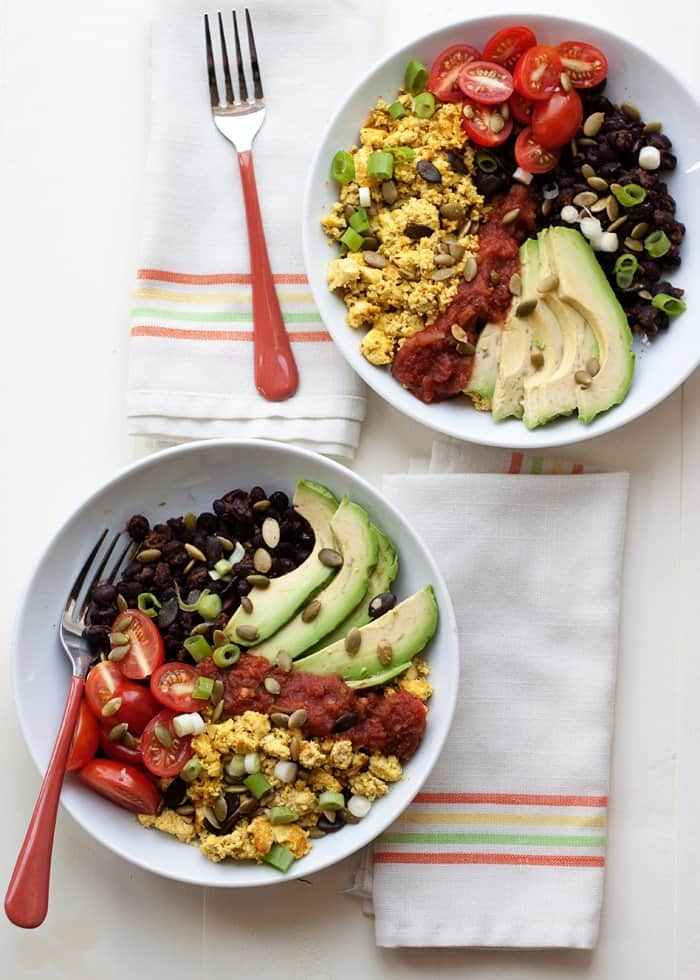 Plant Protein Breakfast Bowl