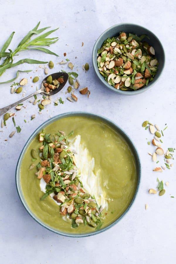 Fennel & Asparagus Soup