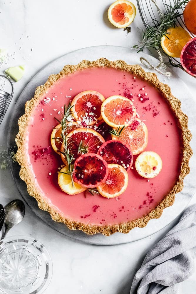fruity orange tart