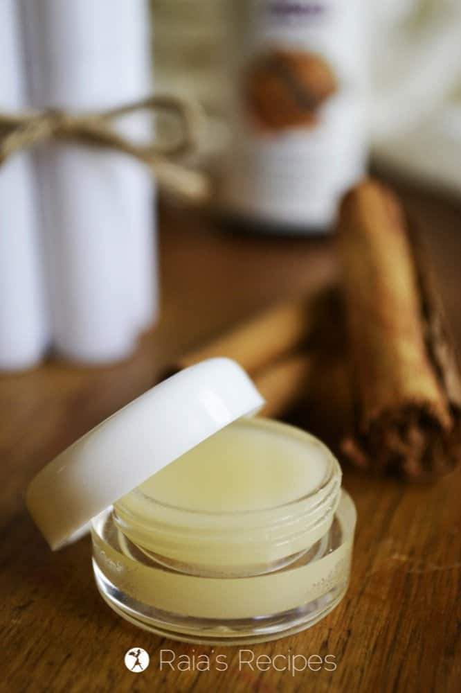 Honey & Cinnamon Lip Balm