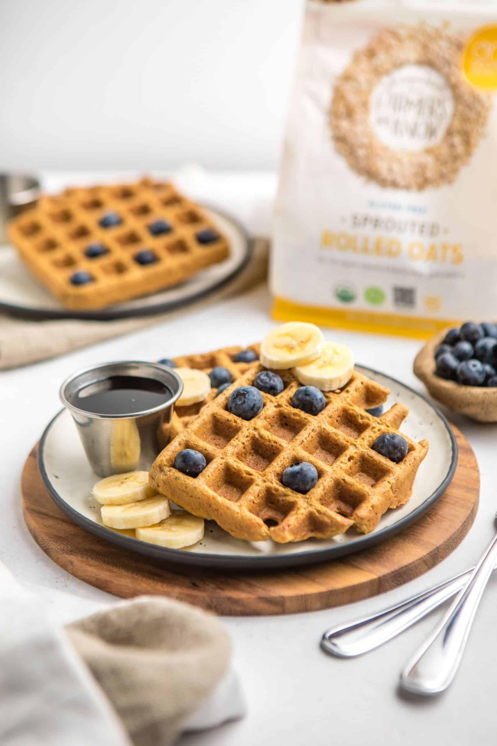 Vegan Blender Waffles