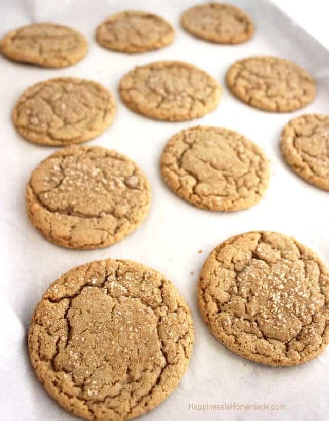 Brown Butter & Maple Brown Sugar Cookies