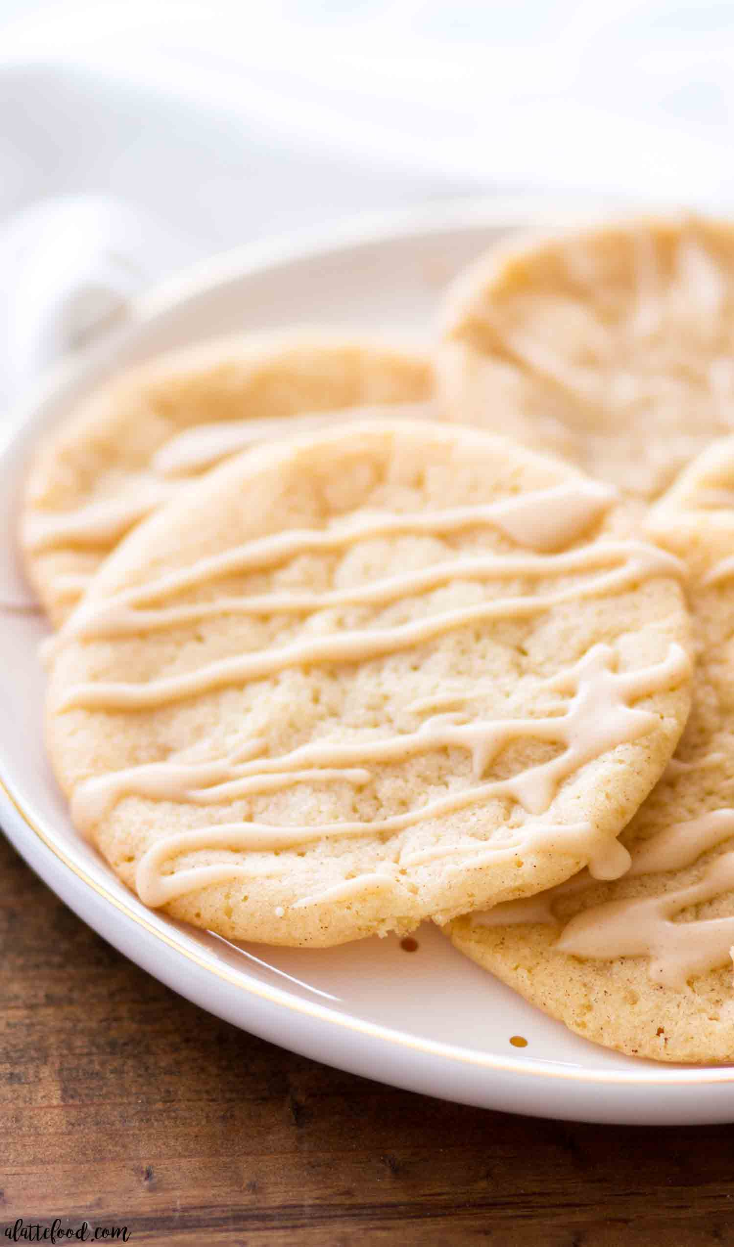 Chewy Maple Sugar Cookies
