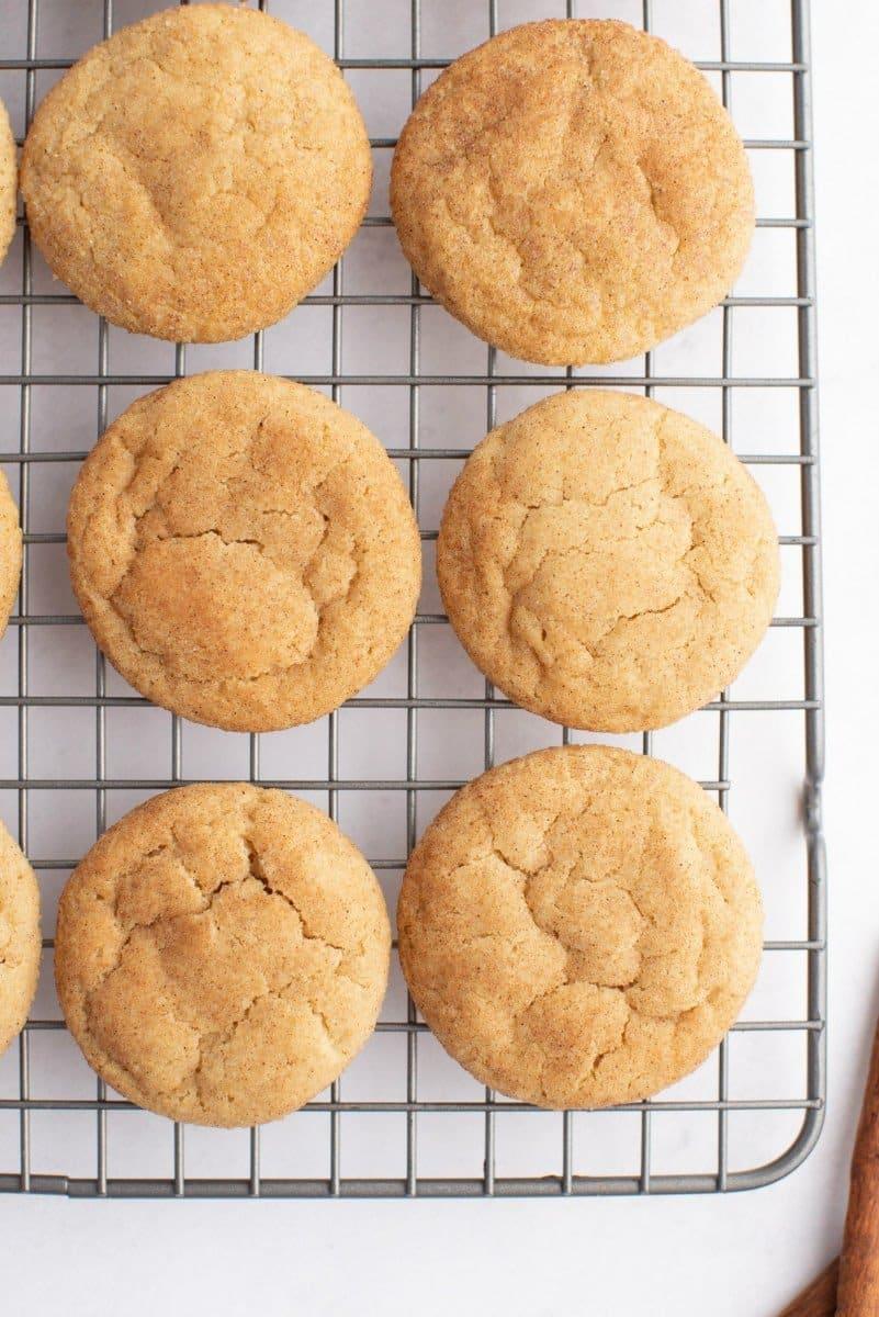 Maple Crackletop Cookies