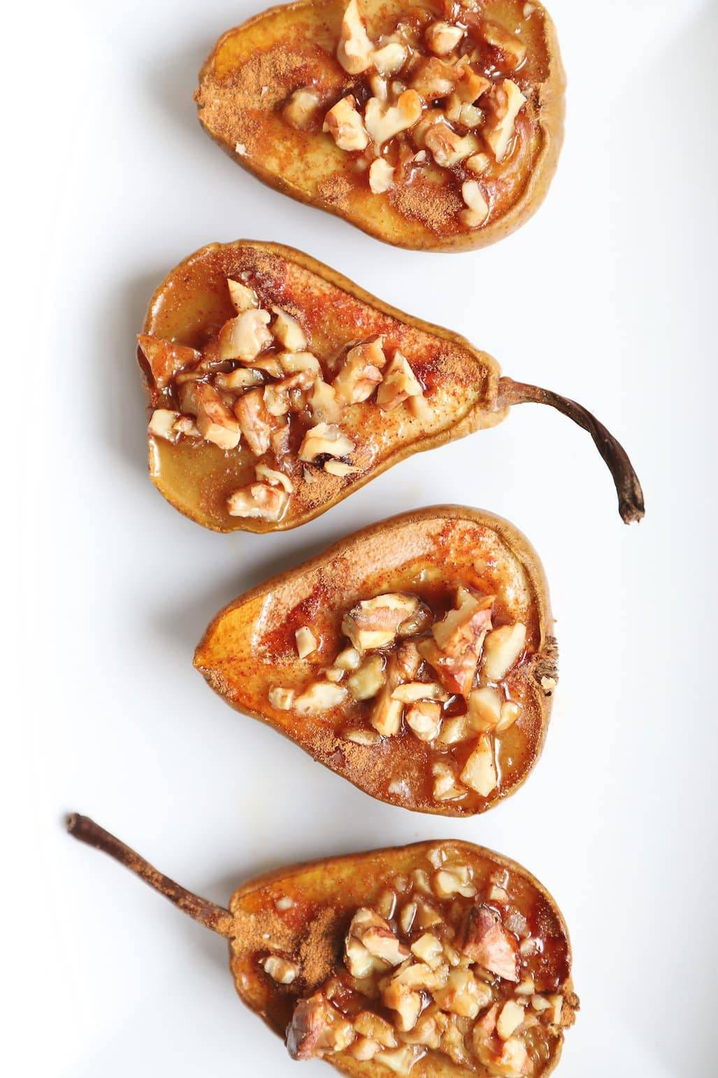 Baked Pears with Walnuts