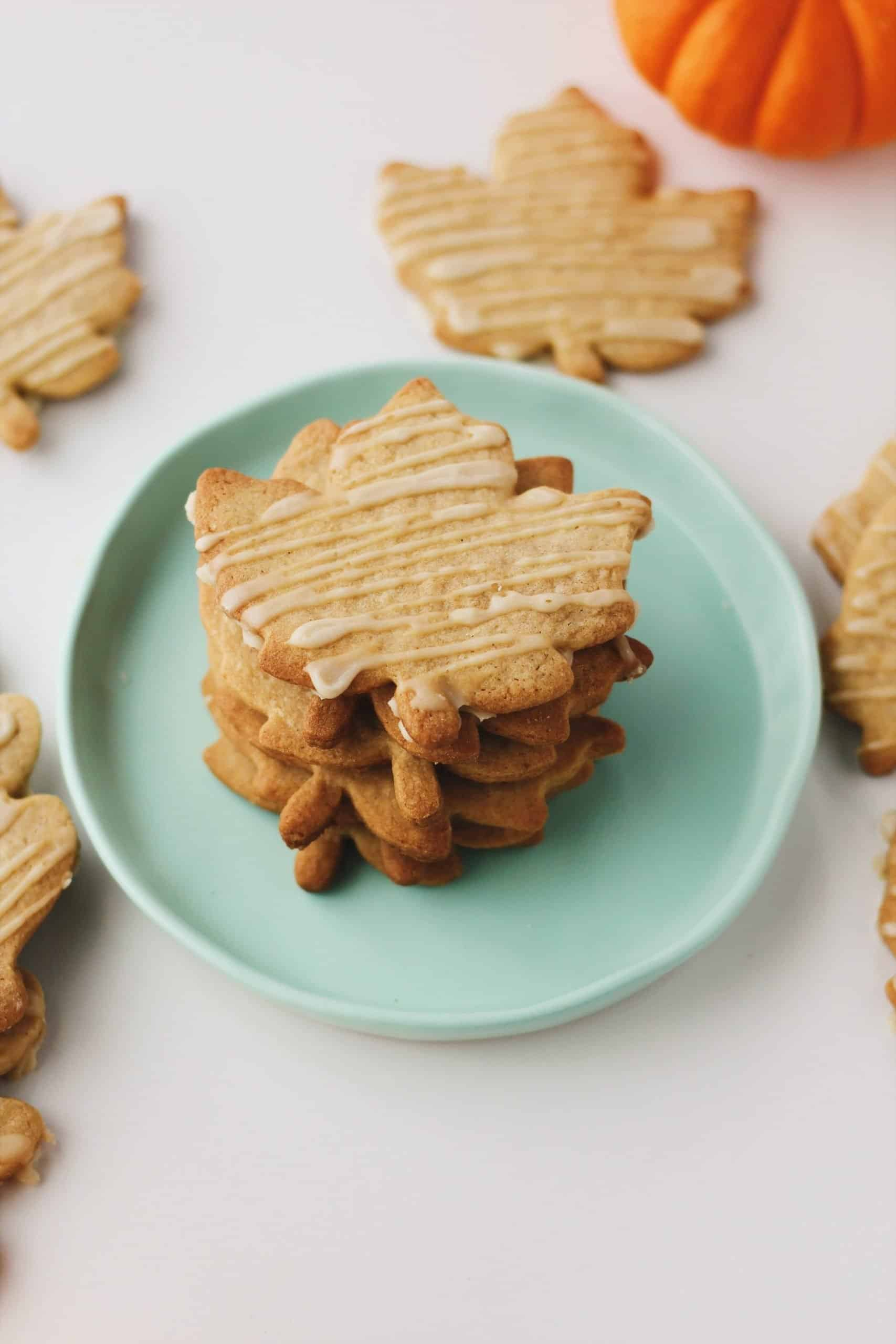 Ginger Maple Sugar Cookies