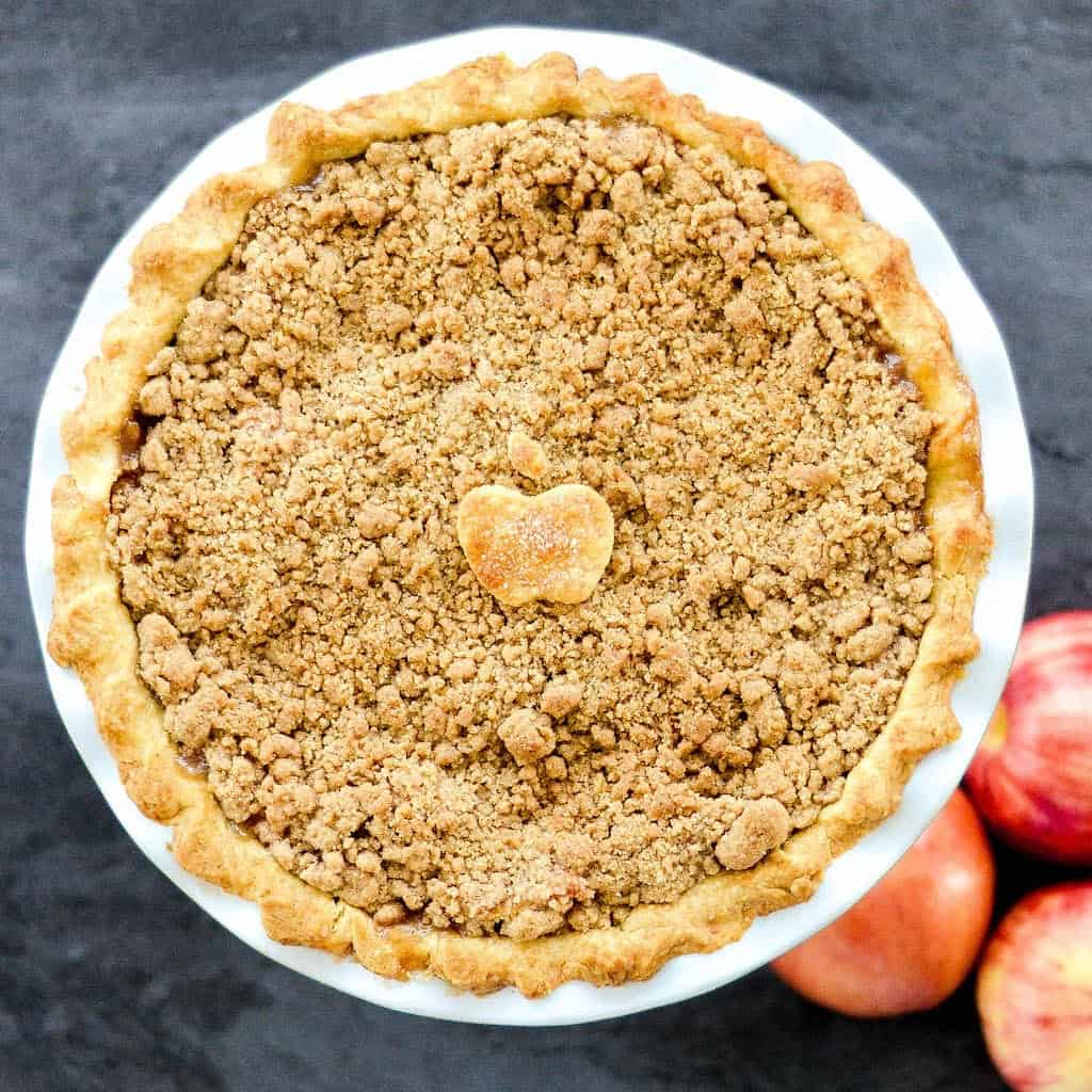 The Best Apple Crumble Pie Recipe
