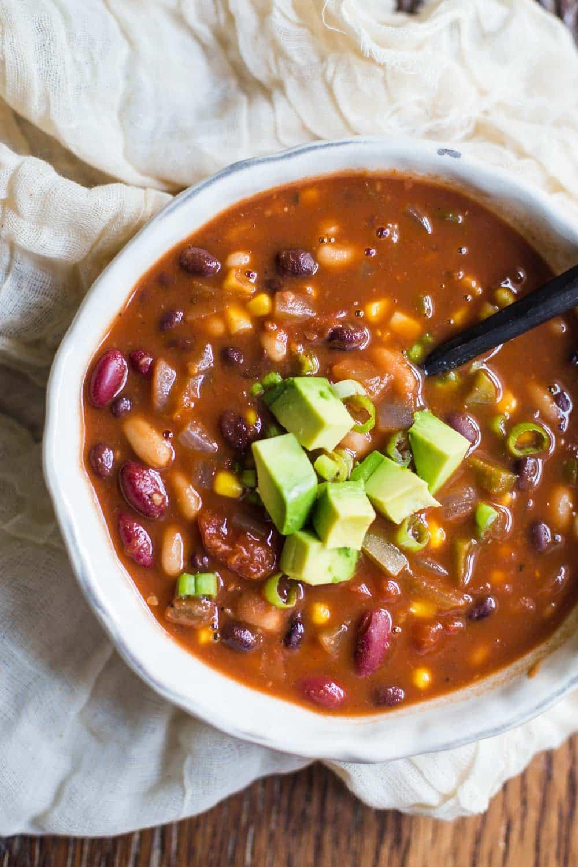 Loaded Vegan Chili