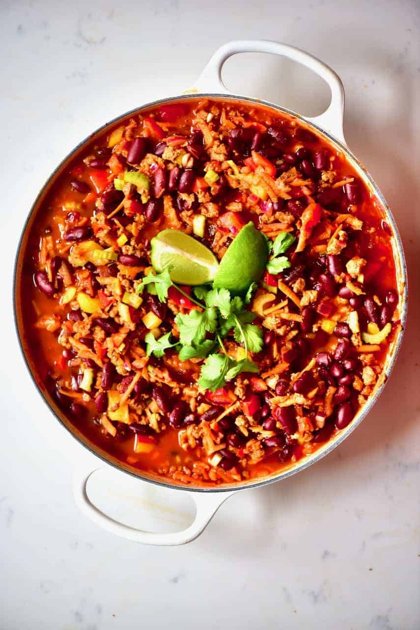 Simple Vegan Chilli con carne Recipe