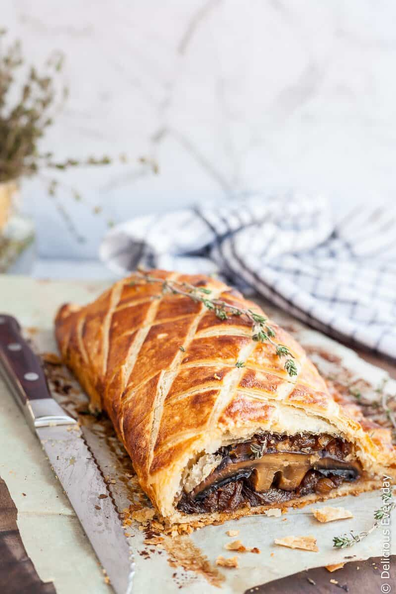 Vegan Mushroom Wellington Recipe