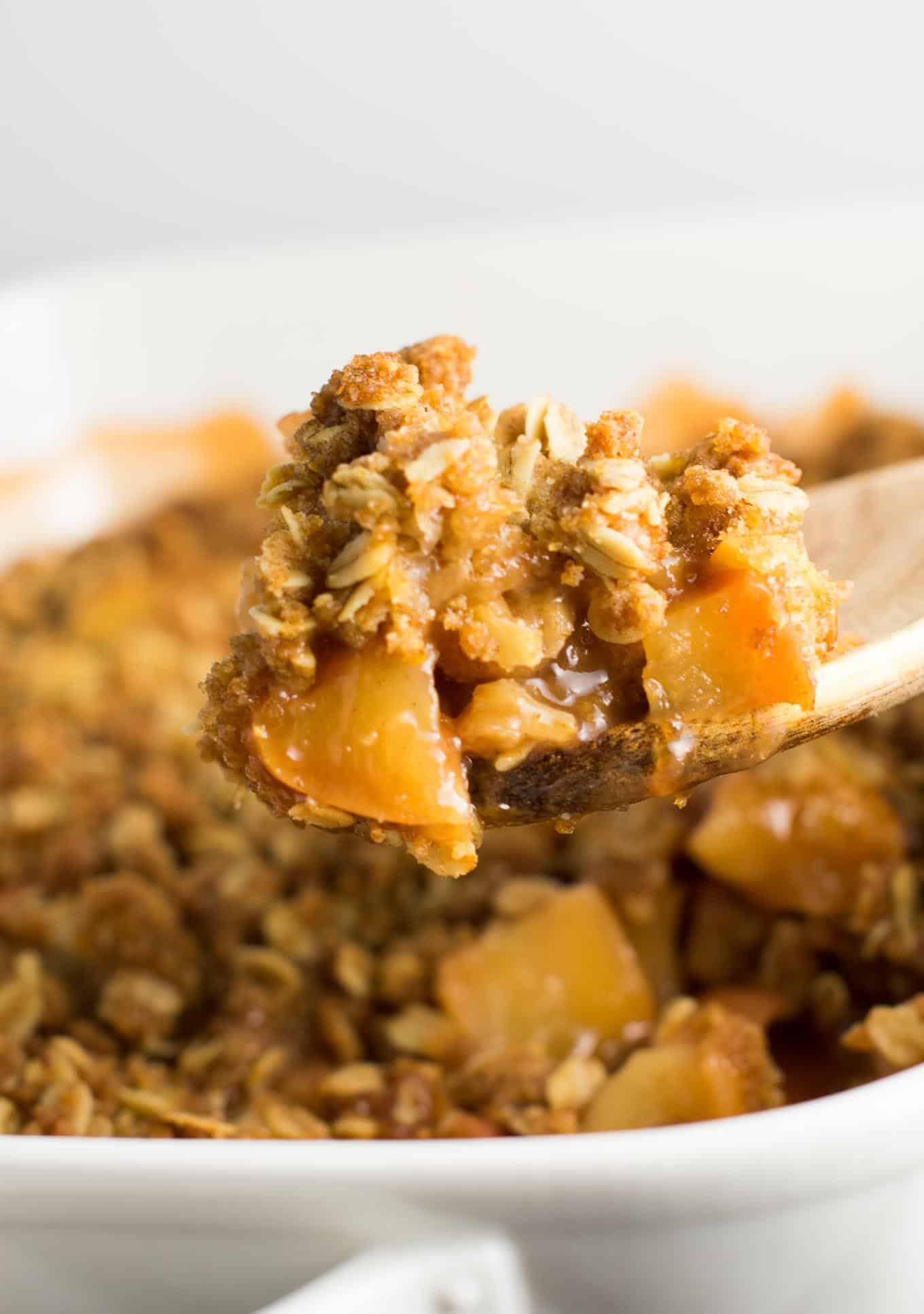 The Best Vegan Apple Crisp Recipe