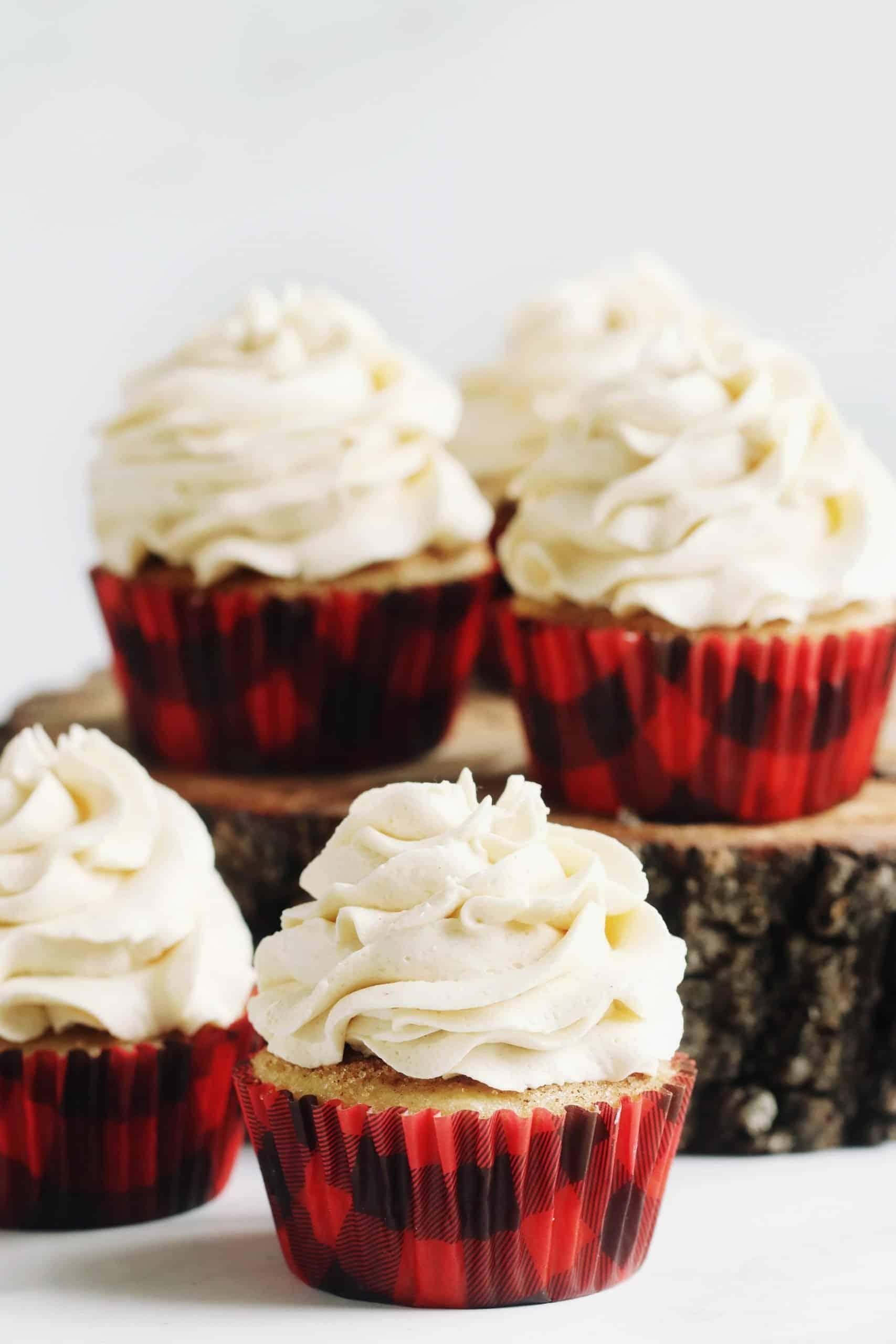 AMAZING Coffee Cake Cupcakes